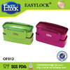 BPA free bread plastic silicone lunch box made in China