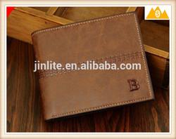 Custom Design Genuine Leather Wallet, Men Wallet