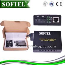 [SOFTEL]1/4/8 port dual fiber midea converter,ethernet fiber media converter,hdmi optical fiber converter