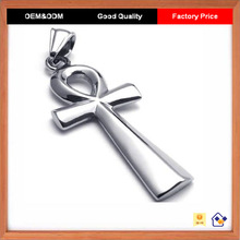 2014 New Jewelry Egyptian Stainless Steel Ankh Pendants