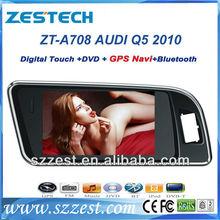 "ZESTECH Wholesales 7"" touch screen 2 din car dvd player for Audi Q5 car dvd gps navigation"