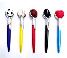 Plastic promotional sports ball pen