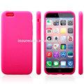 Atacado nova chegada silicone celular capa para o iphone 6, macio liso capa de silicone gel pele de borracha para apple iphone capa 6