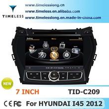 Car GPS Navigation for Hyundai IX45 with Phonebook iPod RDS DVR BT 3G WIFI 20VCDC CPU1GMHZ RAM512MB 4G Memory S100
