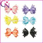 Handmade Grosgrain Ribbon Hair Bows Baby And Girl Hair Clip Boutique Hair Accessories Wholesale(CNHBW-14062072)