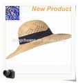 Verão de papel palha chapéus de panamá equador