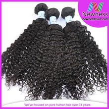 6A natural color virgin filipino hair
