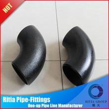 Mild Steel pipe fittings long radius steel pipe elbows