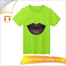 180GSM 2015summer latest style men's t-shirt short sleeve custom