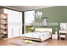 mobília de madeira mobília do quarto cama armário