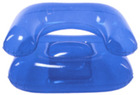 Fashion adult air sofa inflatable PVC blue lounge relax chair
