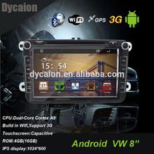 Car dvd player vw passat hd android/2din car dvb-t/navigation fm radio bluetooth