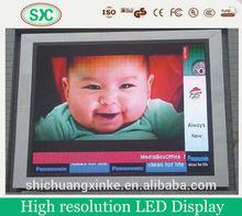 led electronic display sign led scan 1/2 display panel led street mounted display panel