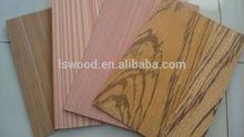 Rotary cut 0.30mm natural wood veneer plywood teak ash