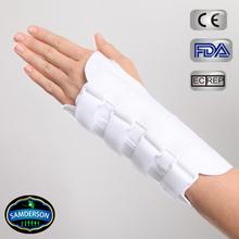 Canvas rigid therapeutic wrist support / wrist splint