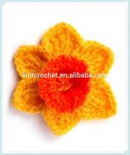 Hand Crochet Flower, Hand Crochet Brooch