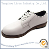 white genuine leather Navy Force lightweight oxford dress shoes