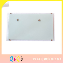 Magnetic glass writing message white board