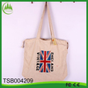 2014 new arrival flag jute foldable tote shopping bag