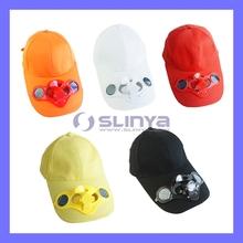 Hot Sale Solar Fan Cap Solar Powered Fan Hat