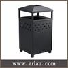 (BS-023) Outdoor Cast Iron Trash Bin