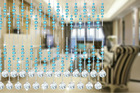 Chinese crystal bead curtain