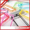 Transparent clear Soft TPU+PC Bumper Cover Frame Case For iPhone 5 5s TPU frame case for iphone5