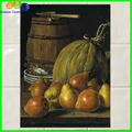 Cozinha backsplash telha cerâmica nomes de frutas com fotos