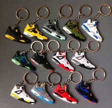 wholesale mini basketball shoes keychain as promotional gift