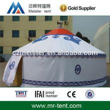 Luxury aluminum mongolian yurt tent