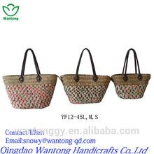 bright coloured cheap corn hust shopping bag
