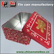 Factory directly color tin box storage metal tin box