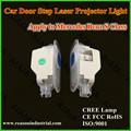 Led kapı projektör logosu ışık/Ghost gölge ışık mercedes için geçerlidir
