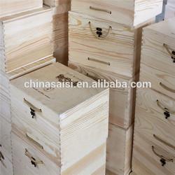 custom classical designs 12 bottle wooden wine box wholesale price