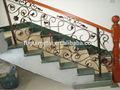 De lujo de hierro sólido de la escalera, barandilla de la escalera