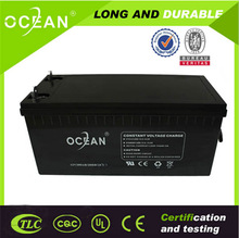 Msds,CE approved deep cycle 6v 1.2ah solar battery