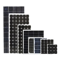 solar panel 120wp-320wp 100w 150w 200w 250w 300w 18v 36v with CE certification factory direct