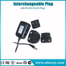 EU plug hs code adapter ac dc adapter 18v ac adaptor 5v 2a