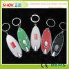 Popular hot sale led flashing promotional acrylic key chain