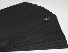 Black paper and black board form Paper factory in China