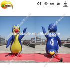 lovely inflatable penguin toy model