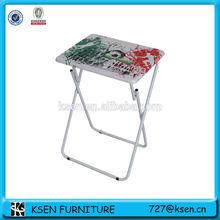 aluminum folding picnic table with multi-color design KC-7580ST