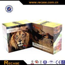 Custom Design Educational Plastic Foldable Paper Cube