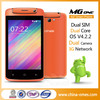 Hot Sale 4.0Inch Android 4.2 Mtk6572 Mtk Android Phone Dual Core