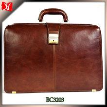 2014 design manufactory custom mini child brand leather briefcase