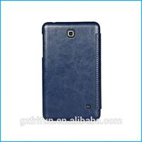 PU leather folio case for samsung galaxy tab 4 7.0-Dark blue