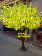 Guangzhou making LED artificial Ginkgo tree made in China