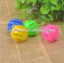pets play plastic bell balls, 4 balls in 1 set