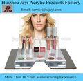 Venta caliente de gran capacidad de acrílico esmaltes de uñas soporte de exhibición, Modernacrylic esmaltes de uñas soporte de exhibición