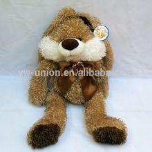 25cm, 35cm sitting size long legs brown rabbit soft stuffed plush toys